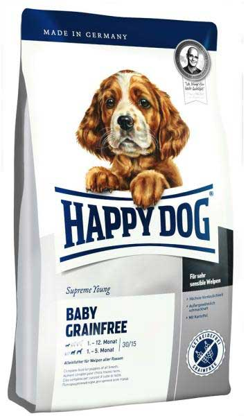 Hrana za štence Happy Dog Supreme Young Baby Grainfree 12,5kg + 2kg GRATIS