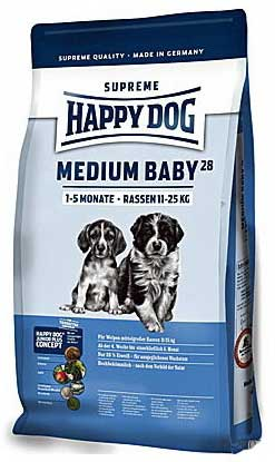 Happy Dog Hrana za pse Supreme Young Medium Baby 1kg