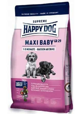 Happy Dog Hrana za pse Supreme Young Maxi Baby 15kg + 2kg GRATIS