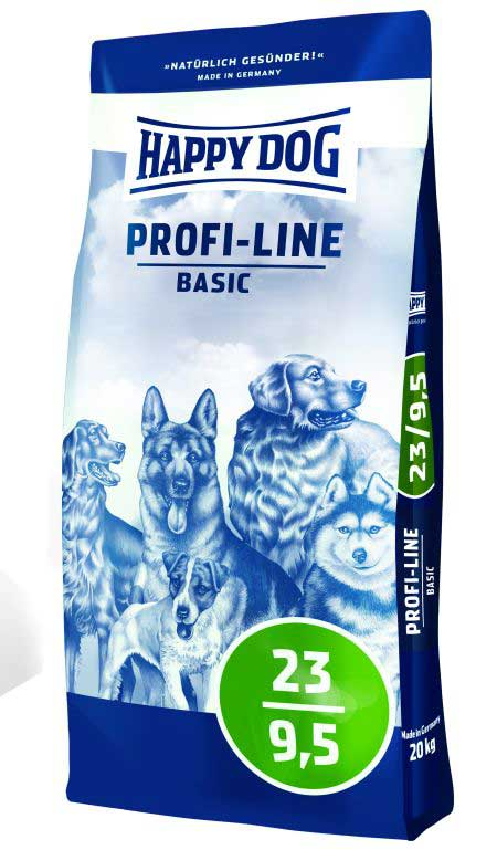 Hrana za pse Happy Dog Profi Line Basic 23-9.5 pakovanje 20kg