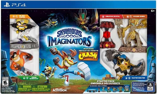 Skylanders Imaginators Starter Pack Crash Bandicoot Edition Sony PS4 87883EM