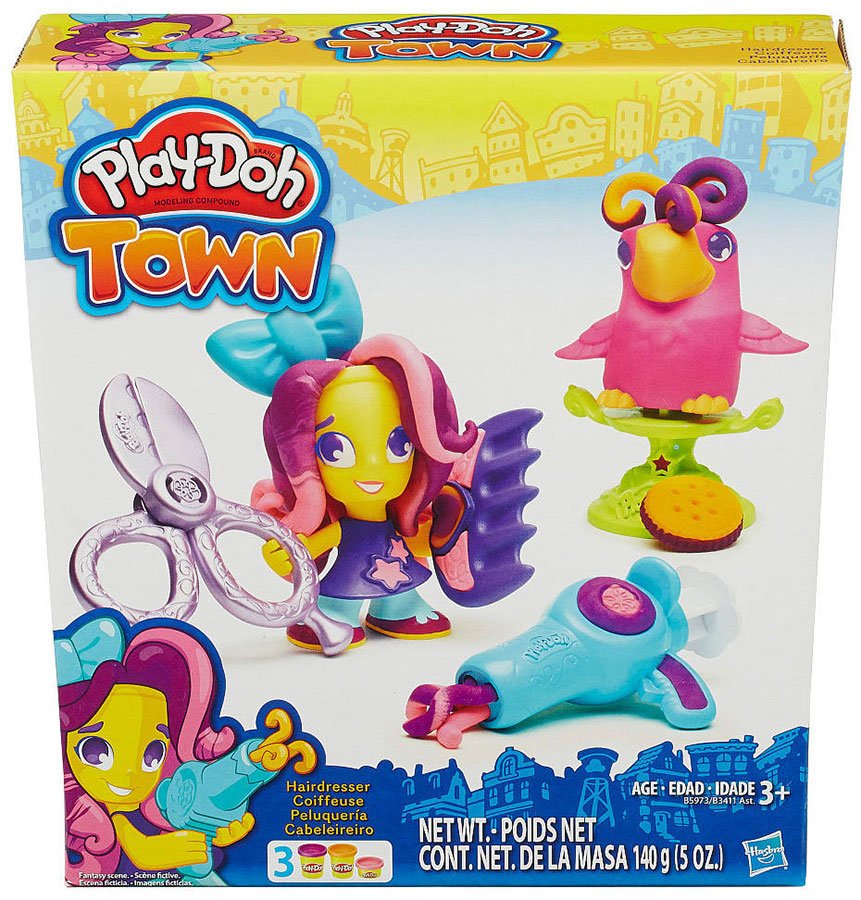 Playdoh Plastelin Set Frizer i Papagaj B3411