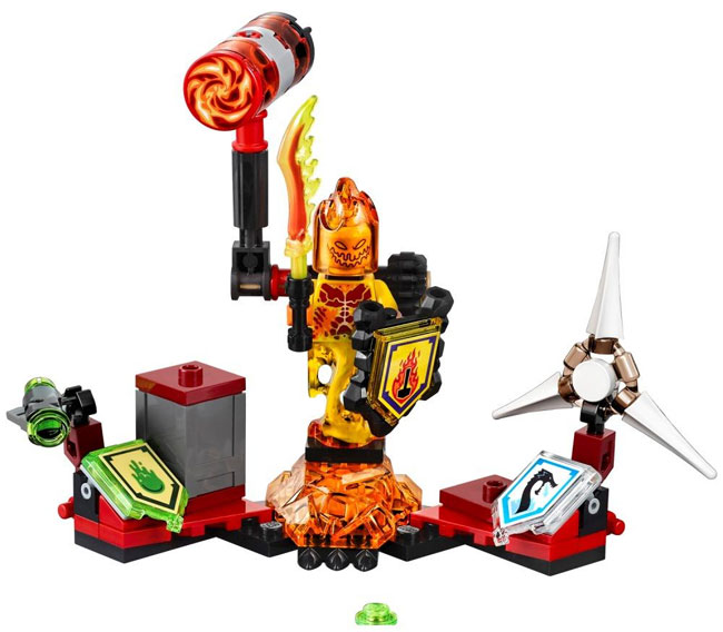 LEGO Nexo Knights kocke Ultimate Flama LE70339