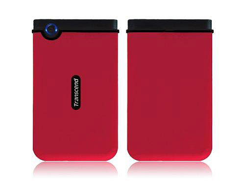 Transcend USB hard disk 320 GB - otporan na udarce RED