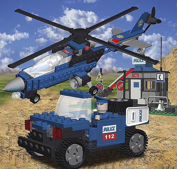 Cobi Action Town Policijski Set 1541