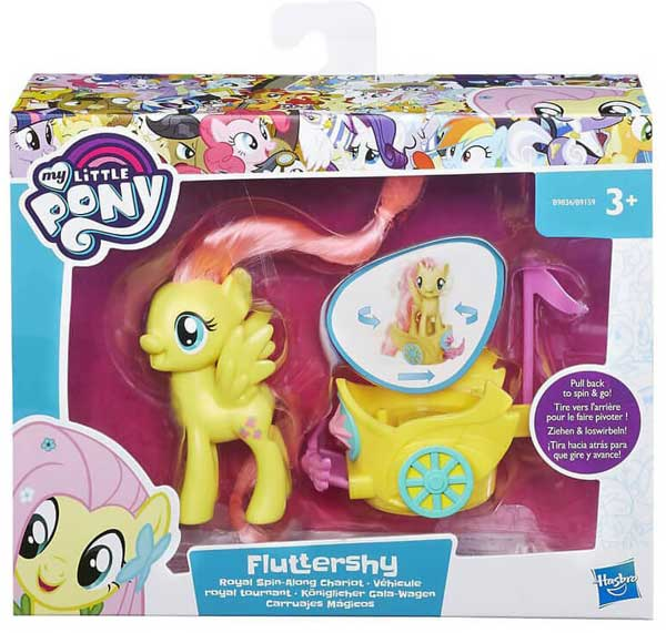 My Little Pony Royal Spin Fluttershy B9159