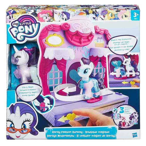 My Little Pony Rarity Fashion Runway B8811