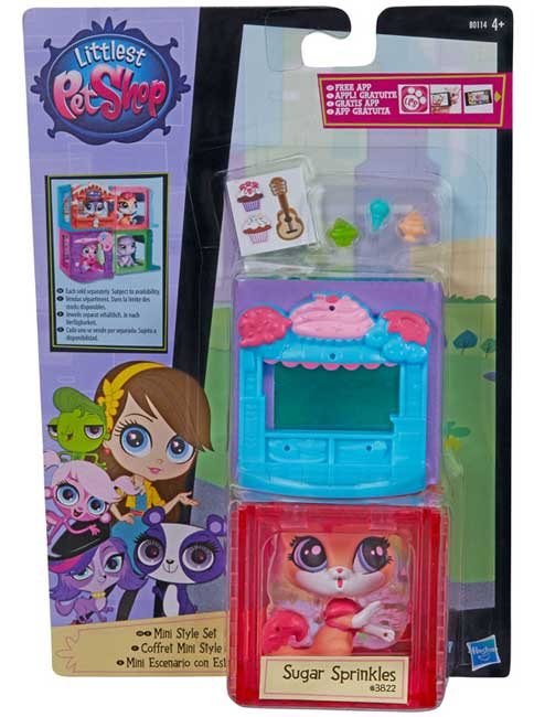 Littlest Pet Shop Sugar Sprinkles B0092