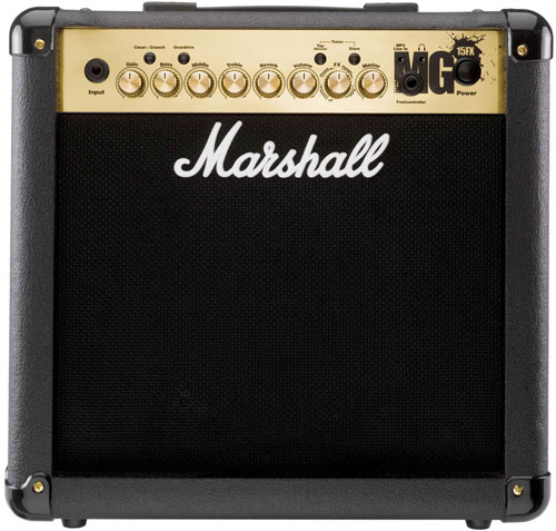 Marshall MG4 Series MG15FX 15W Guitar Combo Amp