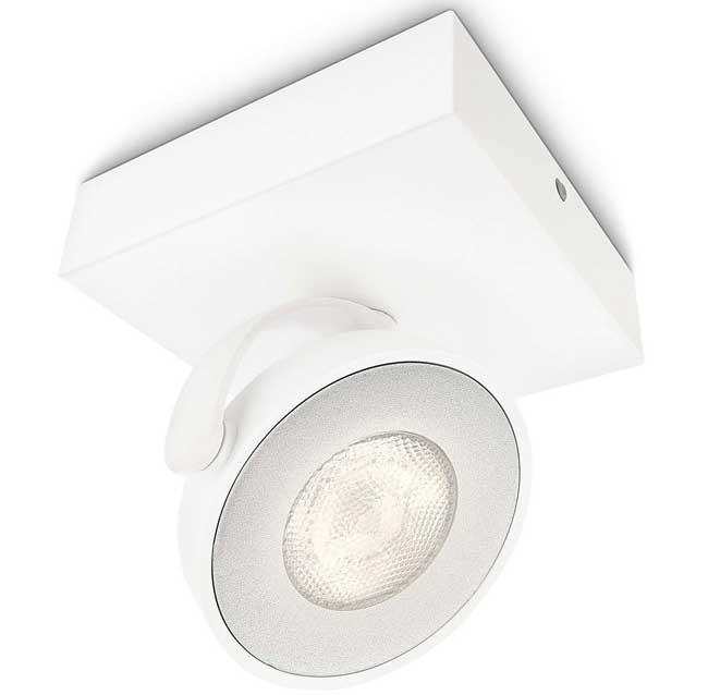 Philips LED spot lampa Clockwork Dimabilna 53170/31/16