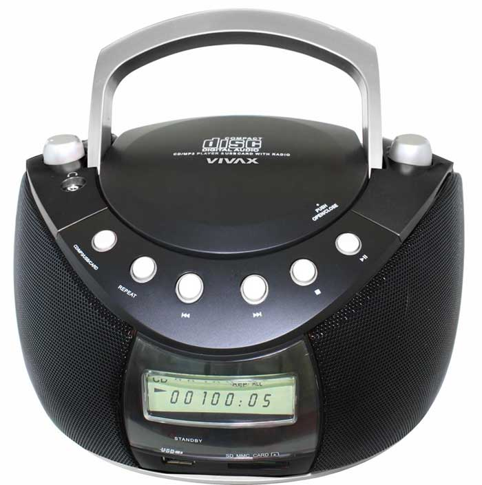 Vivax Prenosni radio CD SD MMC mp3 player APM - 1031