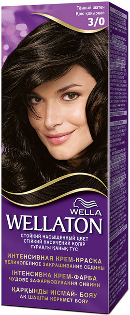 Wellaton Boja za kosu 3/0 Dark Brown