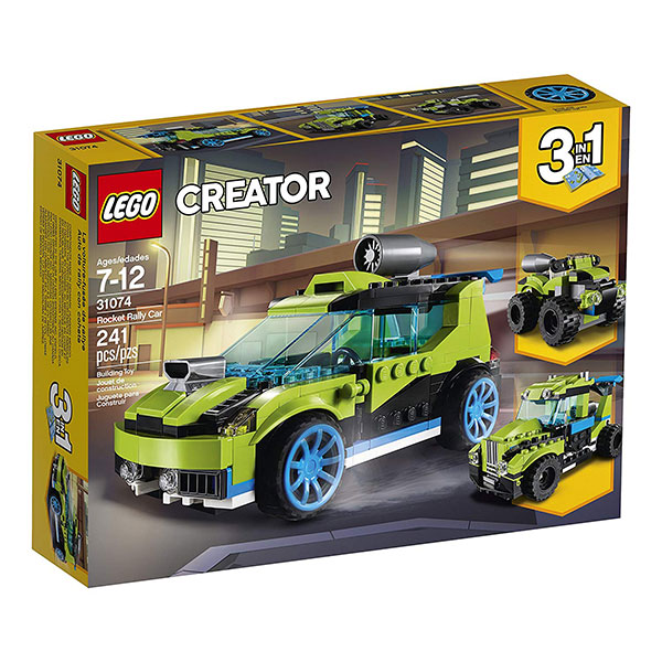 LEGO Creator Kocke 3u1 - Rocket Rally Car 31074
