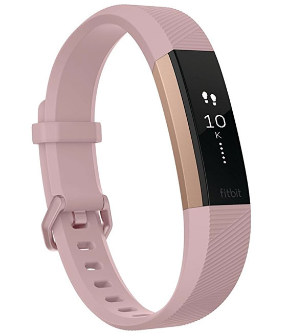 Pametni sat Activity Tracker Fitbit Alta HR Pink Rose Gold L