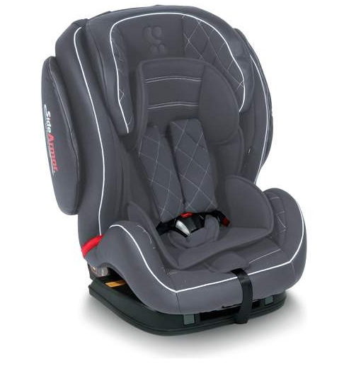 LORELLI Autosedište MARS ISOFIX Grey Leather 9-36kg