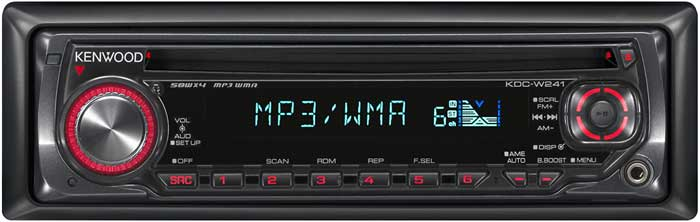 Kenwood FM/WMA/CD/MP3 Player