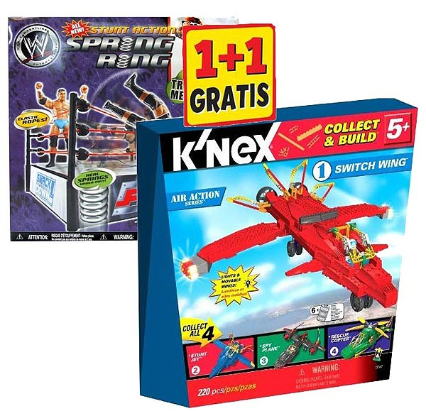Knex Switch Wing Avion + Ring Za Kečere KN12180