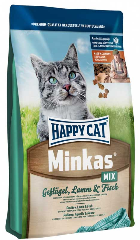 Hrana za mačke Happy Cat - Minkas - Mix 10kg