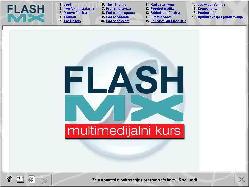 Multimedijalni kurs - Flash MX